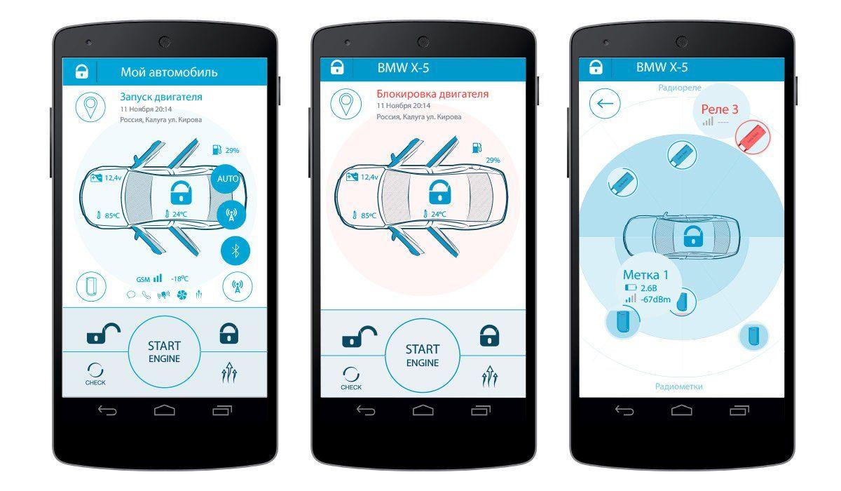 Управление автосигнализацией со смартфона своими руками