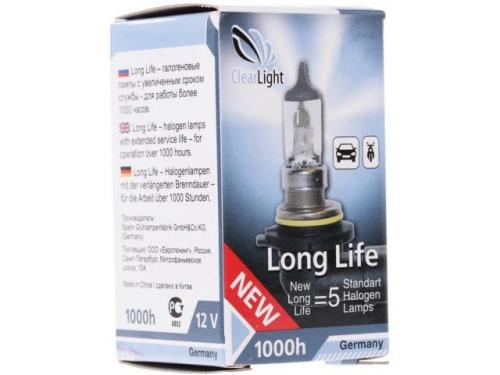 Лампа HB3(Clearlight)12V-65W LongLife