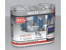 Лампа H11(Clearlight)12V-55W WhiteLight