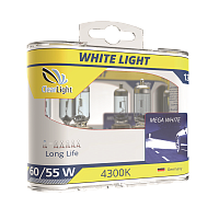 Лампа H1(Clearlight)12V-55W  WhiteLight