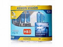 Галогеновая лампа HB3 Clearlight 12V-65W XenonVision
