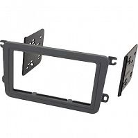 INTRO 99-9011 2DIN VW Golf 5, Polo new, Amarok, Touran, Jetta, Passat B6,B7, Tiguan, SKODA Fabia new 2din (крепеж)