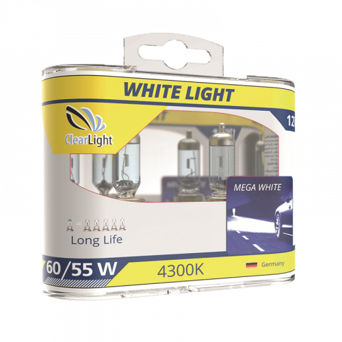 Лампа H3(Clearlight)12V-55W WhiteLight